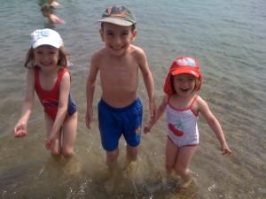 kids on th beach weymouth