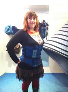 fashion museum Bath, U.K. Victorian corset