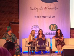 Camila Batmanghelidjh, Lindsay Atkin. Hayley Goleniowska and Chris Mosler for How To Be An Agent Of Change BritMums Live! 2014