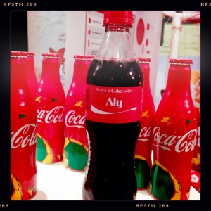Share a coke with Aly