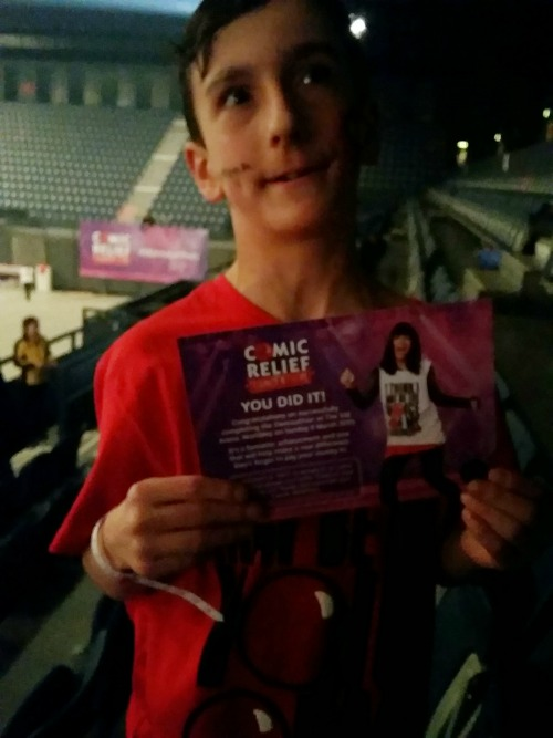 My Son Danced For 6 Hours In The Comic Relief Danceathon