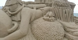 Weston-Super-Mare Sand Sculpture Festival 2015