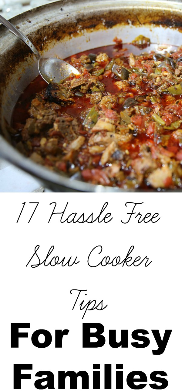 Slow Cooker Tips For Busy Families