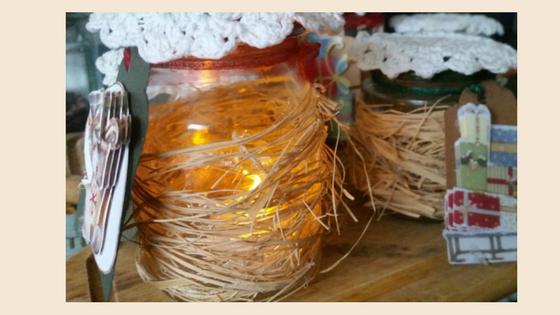 Christmas Decorative Jars