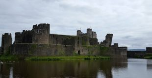 Discovering The Dragon At Caerphilly Castle