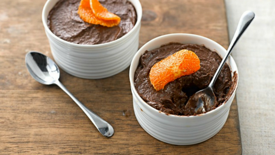 Quick Vegetarian Chocolate And Clementine Mousse