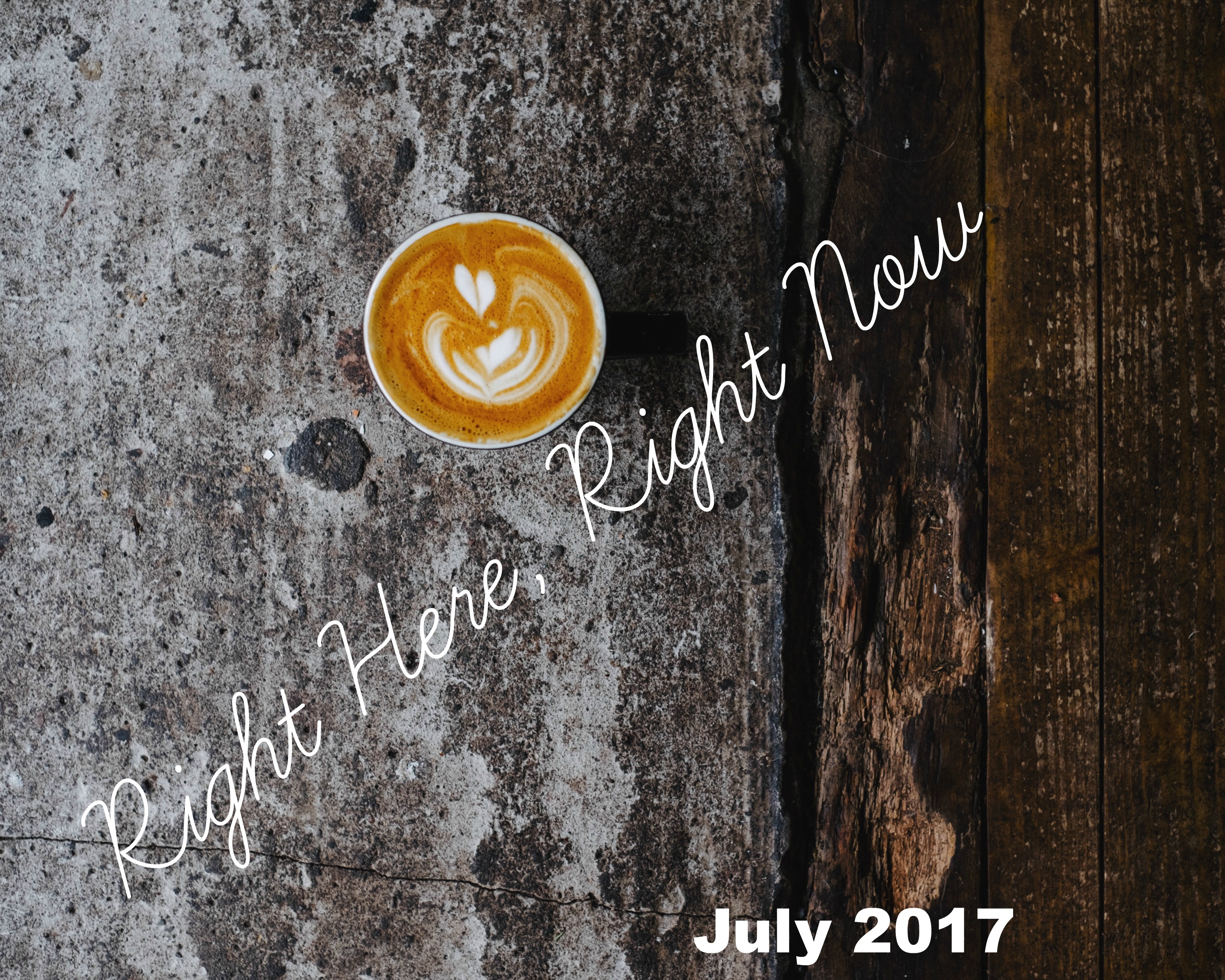 Right Here, Right Now July is a monthly lifestyle update from Aly Hodge of Bug,Bird And Bee