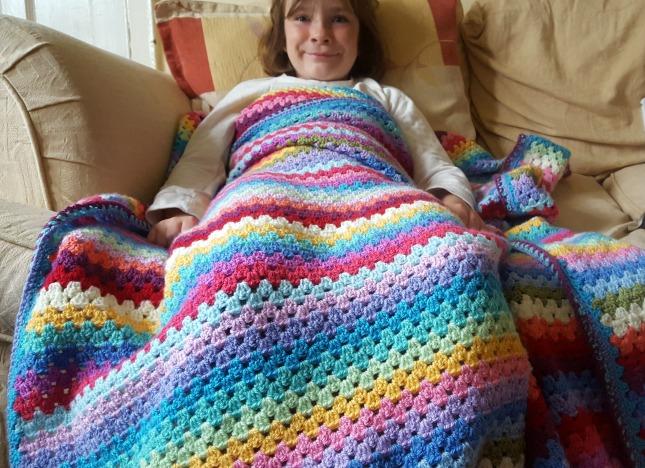 Original Stylecraft Granny Blanket