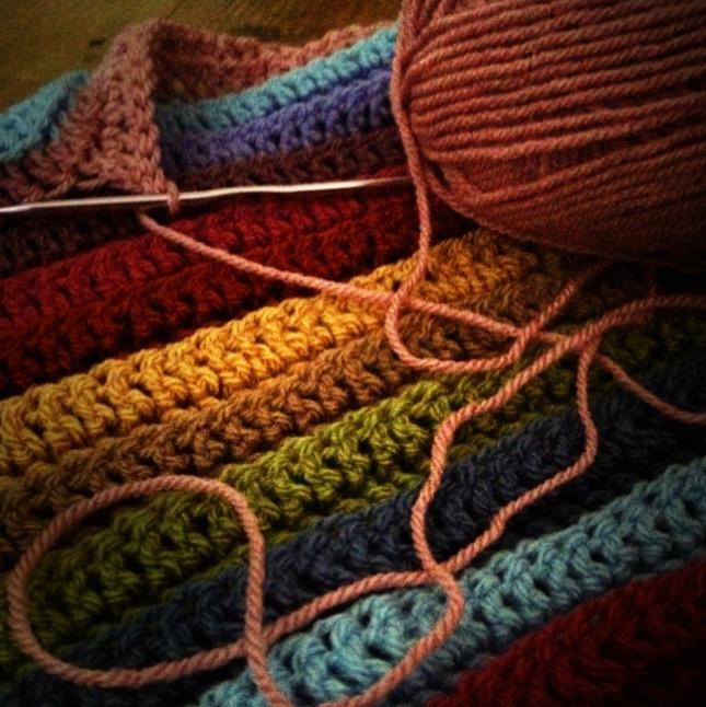 attic 24 stripe blanket